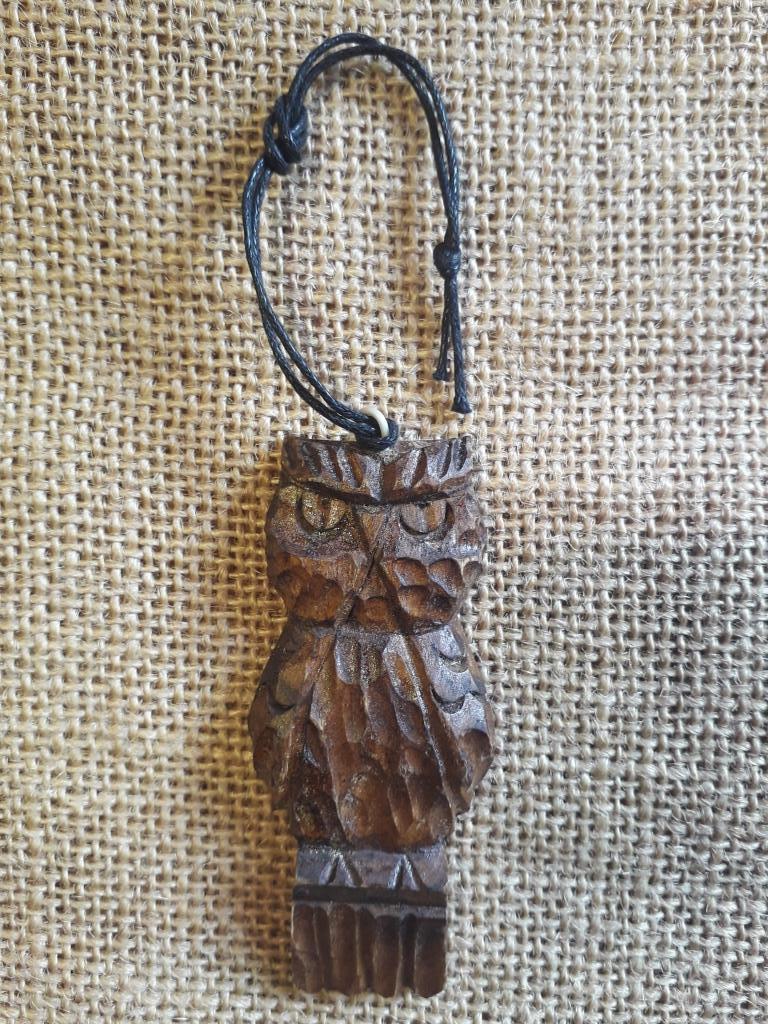 spiritual amulet owl