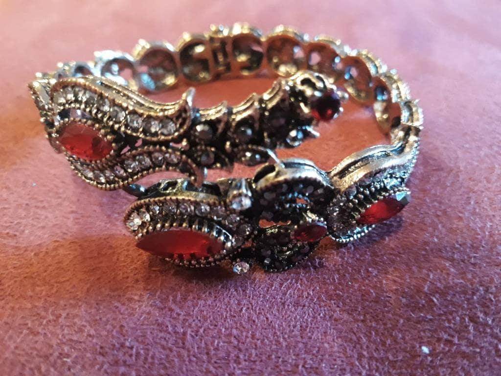 shamanic bracelet with rocks