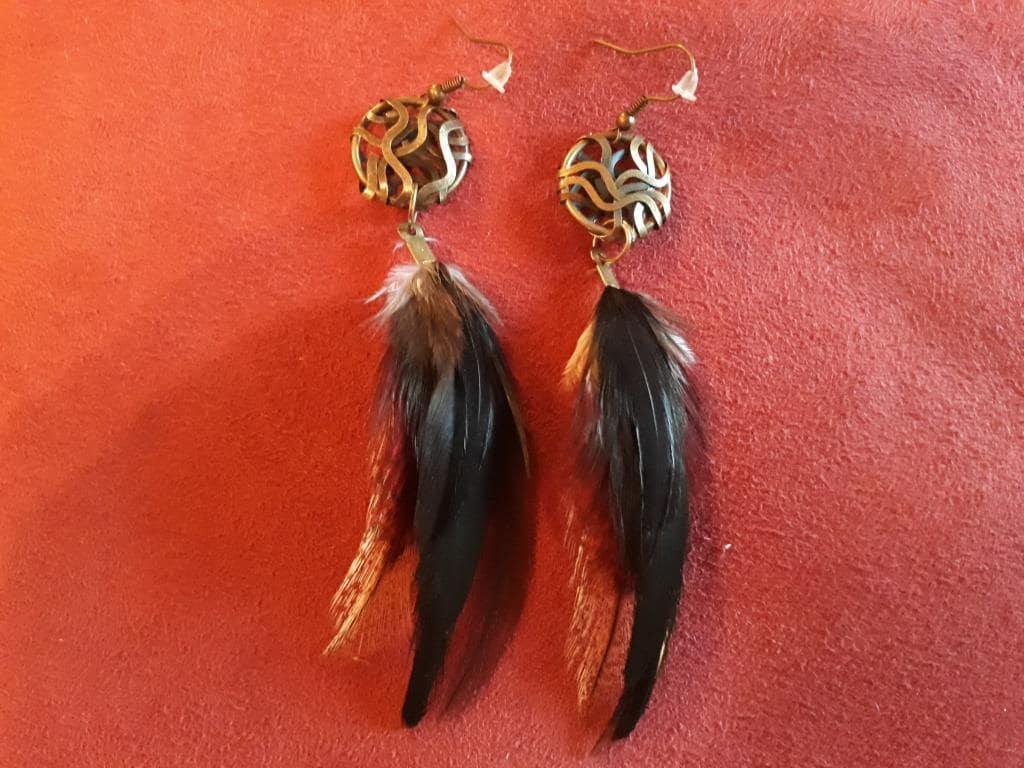 shaman spiritual earrings